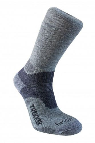 Bridgedale Men's Wool Fusion Trekker Midweight Socks